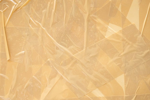 Abstract brown adhesive tape background