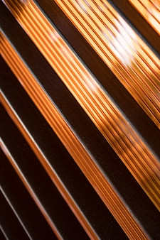 斜めの線で抽象的な茶色の背景