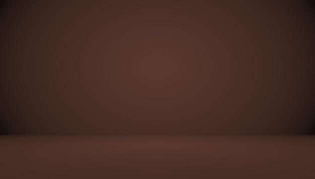 Абстрактный коричневый градиент хорошо используется в качестве фона для отображения продукта