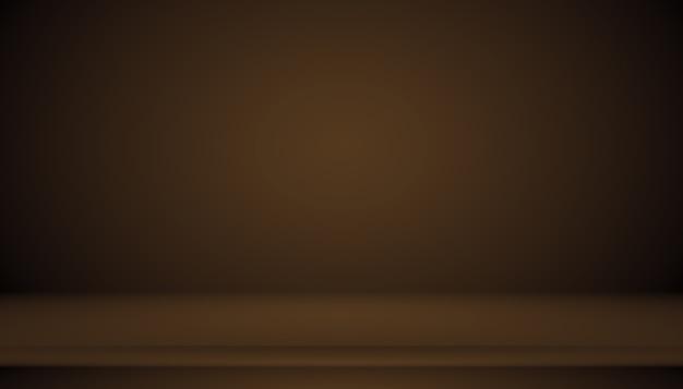 Gradiente marrone astratto ben utilizzato come sfondo per l'esposizione del prodotto