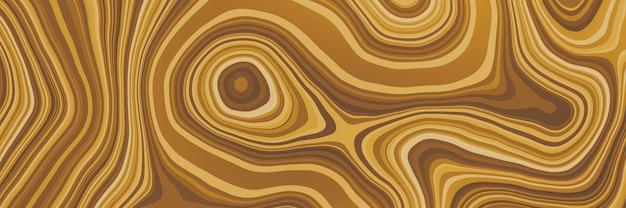 Абстрактный коричневый слоистый фон волны. слоистая почва.