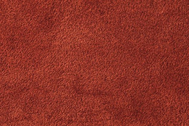抽象的な茶色または赤のベルベットのテクスチャ背景