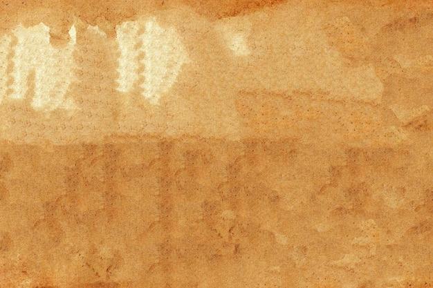 Абстрактный фон текстуры коричневой бумаги.