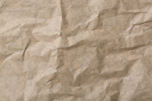 Abstract brown recycle crumpled paper for  background