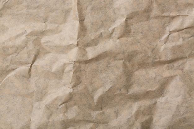 Абстрактный коричневый рециркулировать мятую бумагу для фона