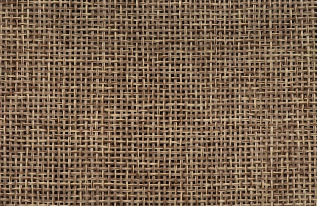 Abstract brown sackcloth texture background