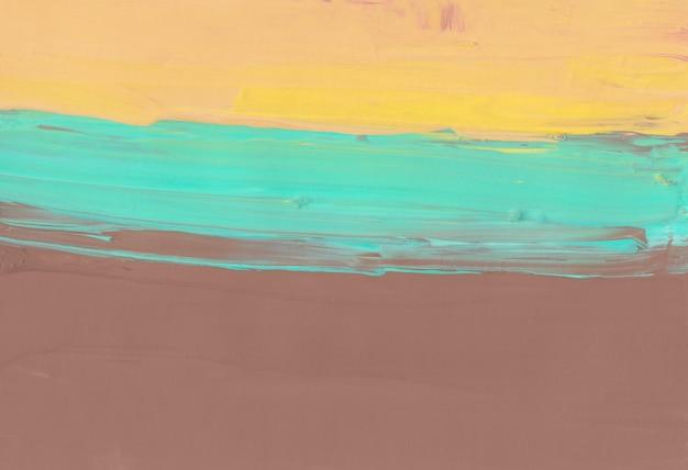 Абстрактный коричневый, желтый, зеленый фон