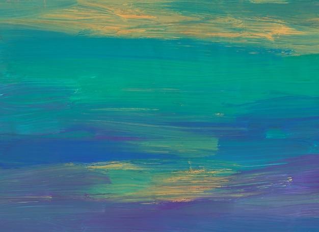 Абстрактный спокойный грязный желтый, зеленый, фиолетовый, синий фон