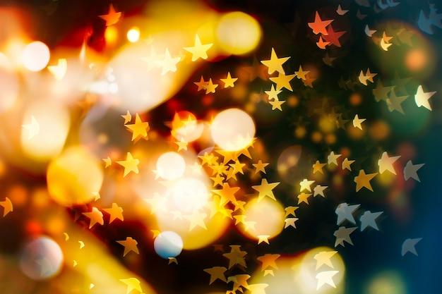 抽象的なクリスマスの背景。きらびやかなクリスマスの背景。