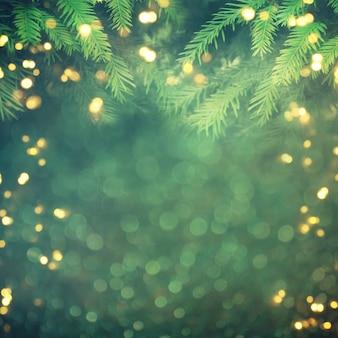 Абстрактные рождественские огни на фоне
