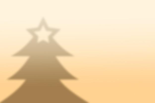 추상 크리스마스 트리 그림자 배경