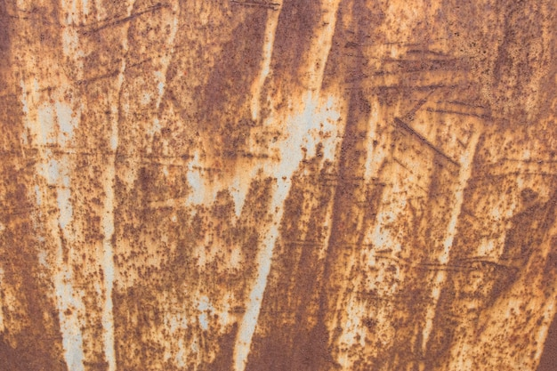 さびた金属の壁紙の抽象的なクローズアップ
