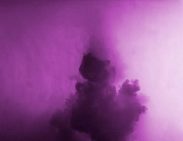 Abstract cloud between purple haze