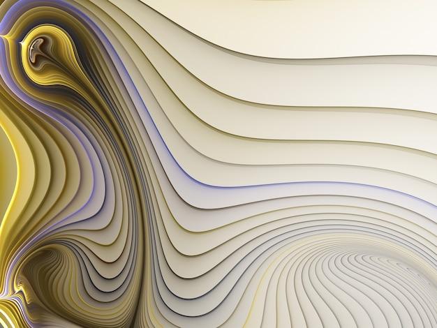 照明効果フラクタルアートと抽象的な色の動的背景