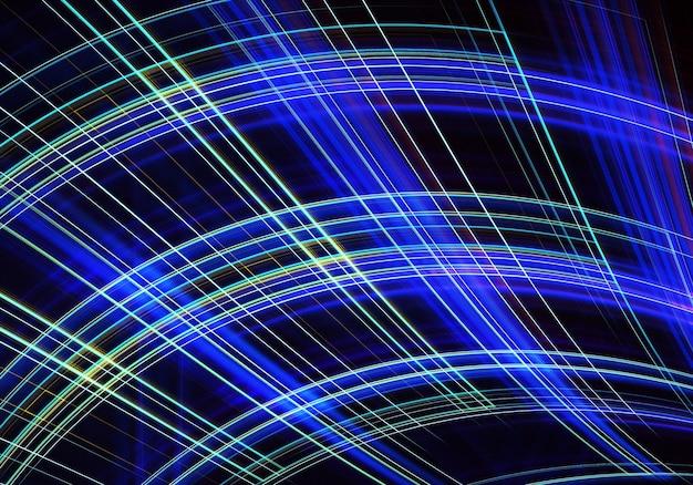 照明効果のある抽象的な色のダイナミックな背景。フラクタルスパイラル。フラクタルアート