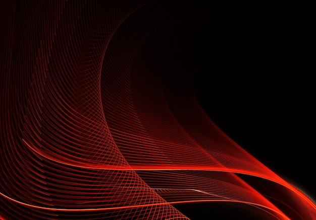 照明効果のある抽象的な色のダイナミックな背景。