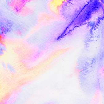 水彩水しぶきの抽象的なカラフルな背景