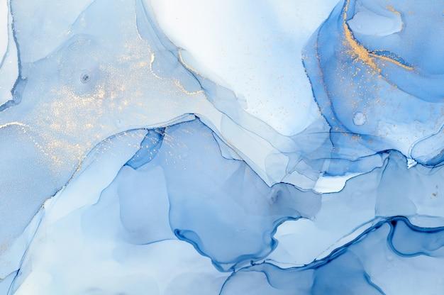 Абстрактный красочный фон, обои. смешивание акриловых красок. современное искусство. текстура мрамора. цвета спиртовых чернил полупрозрачные