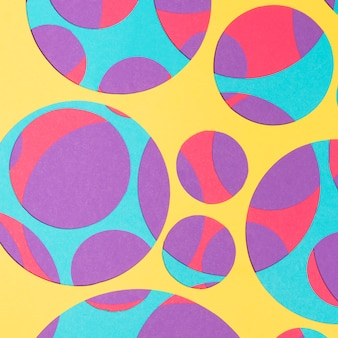 Abstract colorful bright pattern for background