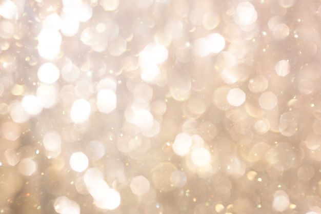 Abstract colorful defocused background with festive light bokeh