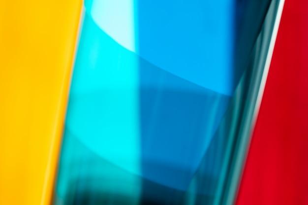 Абстрактная цветастая текстура листов геля