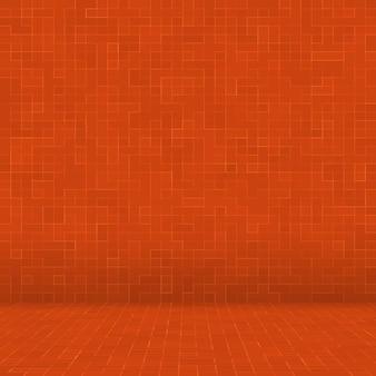 추상 화려한 기하학적 패턴, 주황색, 노란색 및 빨간색 석기 모자이크 질감 배경, 현대적인 스타일의 벽 배경.
