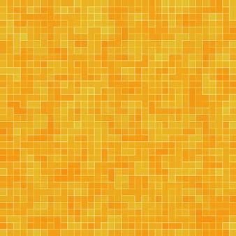 Fondo geometrico variopinto astratto di struttura, fondo di struttura del mosaico del gres, arancio, giallo e rosso, fondo moderno della parete di stile.