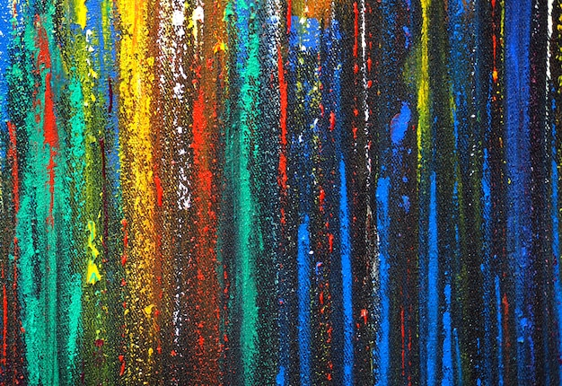 Abstract colorful glitter lines painting