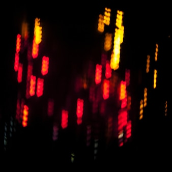Abstract colorful lights