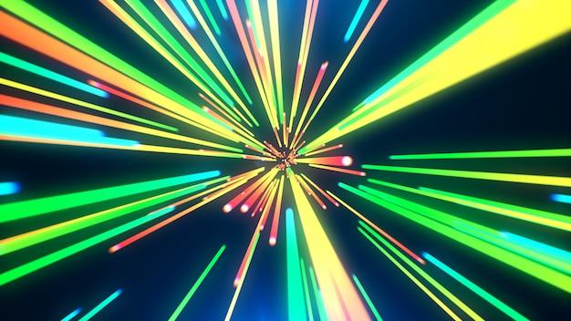 Абстрактный красочный фон линии
