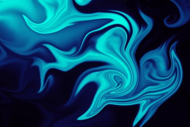 抽象的なカラフルな液体ライナー