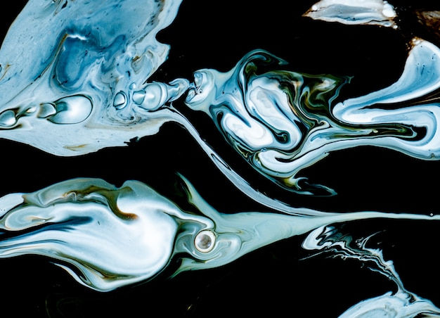 Abstract colorful marble forms for creative designs
