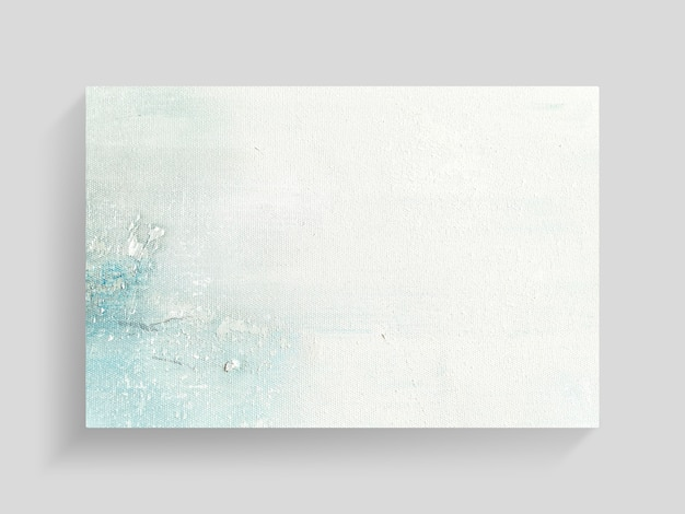 Abstract colorful painting art on canvas texture background. close-up.