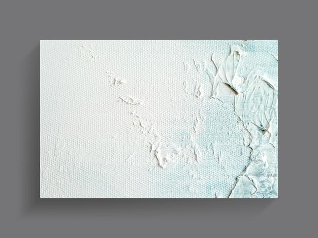 キャンバスのテクスチャ背景の抽象的なカラフルな絵画芸術。閉じる。