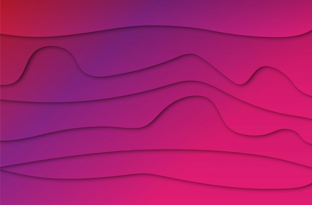 Abstract colorful purple line background