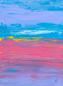 Абстрактный красочный текстурированный фон синий фиолетовый розовый желтый