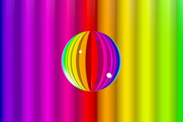 Абстрактный красочный яркий фон с цветами радуги.
