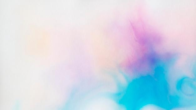 물 배경에 추상 색상