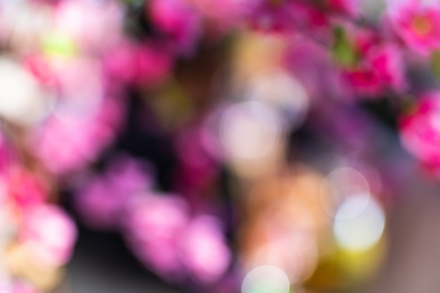 Abstract colourful bokeh