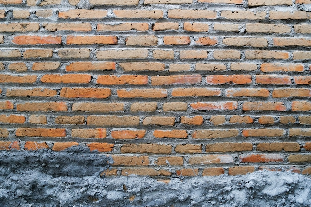 Abstract concreted brick wall background template
