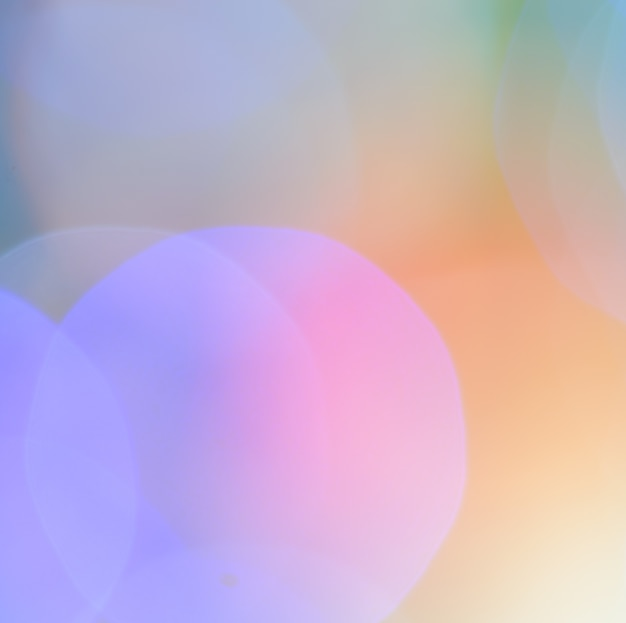 Abstract cool color bokeh background