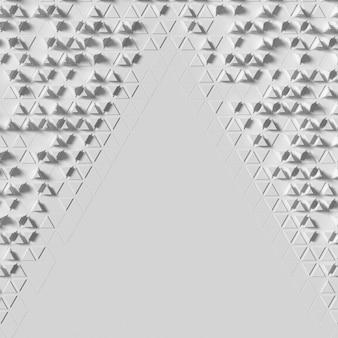 Fondo astratto di forme geometriche dello spazio della copia