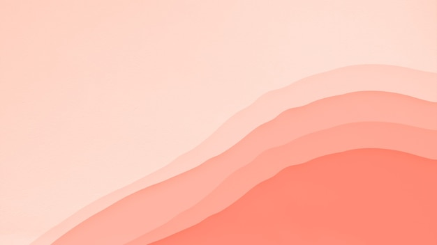 Colore arancio corallo astratto