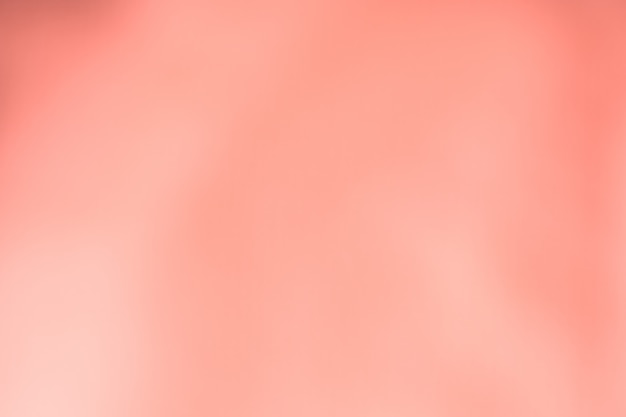 Abstract coral pink color blurred