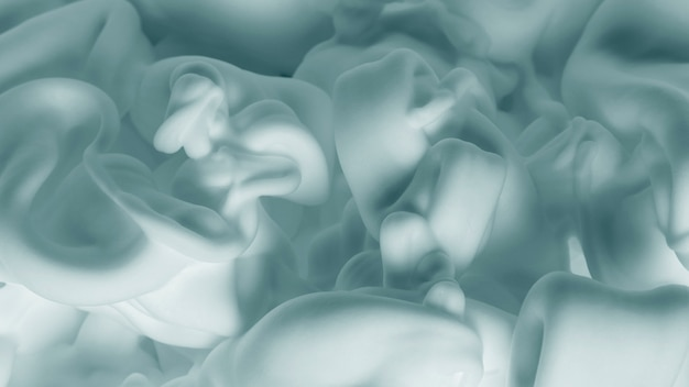 Abstract creamy white foam pattern background