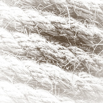 Abstract creative background from hemp rope.