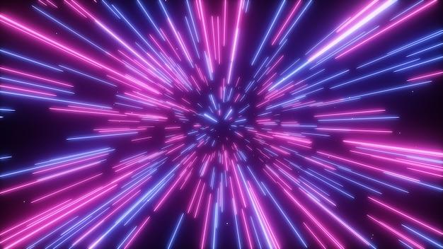 Абстрактный творческий космический фон