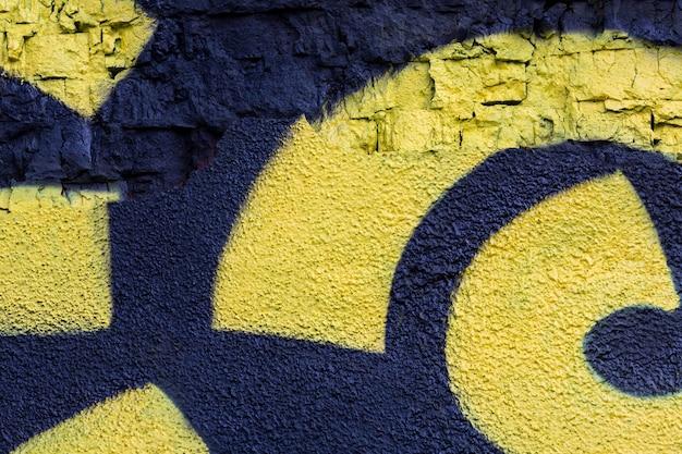 Abstract creative mural graffiti background