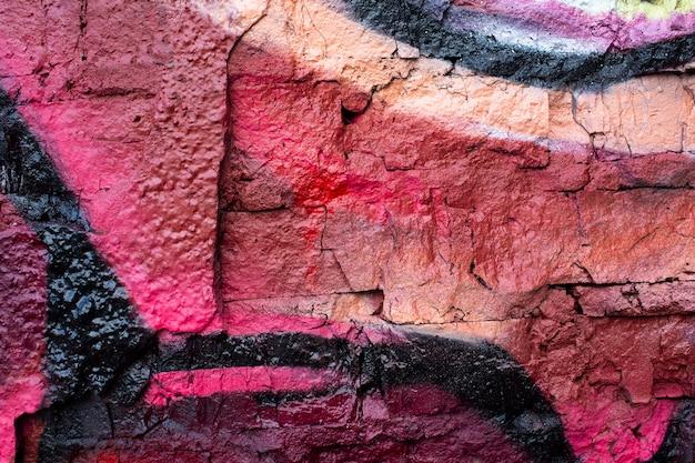 Abstract creative mural graffiti wallpaper