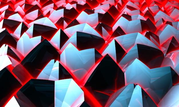 Абстрактный творческий бесшовный образец с треугольниками инсульта кистью. красочный фон для печати брошюры, плаката, открытки, печати, текстиля, журналов, спортивной одежды. современный модный дизайн. 3d-рендеринг